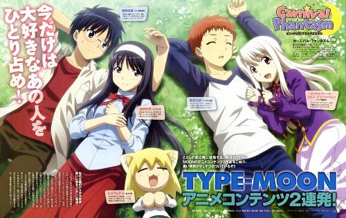 Tomohito Hirose, TYPE-MOON, Lerche, Carnival Phantasm, Neco-Arc