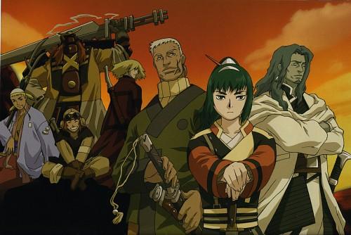 Gonzo, Samurai 7, Katayama Gorobei, Kikuchiyo, Shimada Kambei