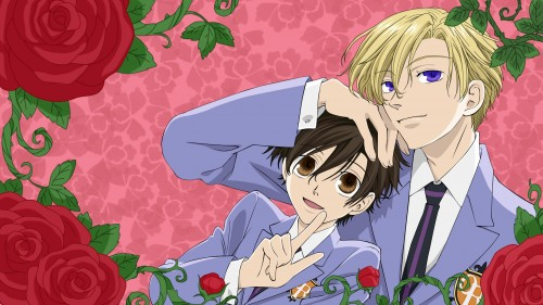 Hatori Bisco, BONES, Ouran High School Host Club, Haruhi Fujioka, Tamaki Suoh Wallpaper