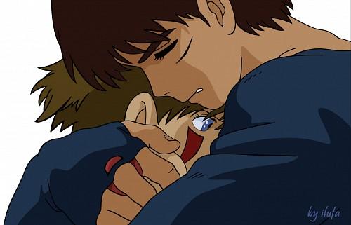 Studio Ghibli, Princess Mononoke, San, Ashitaka, Vector Art