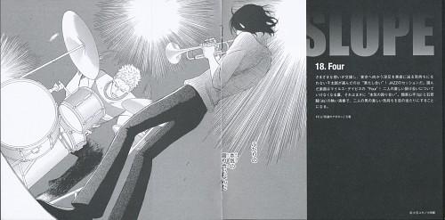 Yuki Kodama, Sakamichi no Apollon, Kaoru Nishimi, Sentarou Kawabuchi