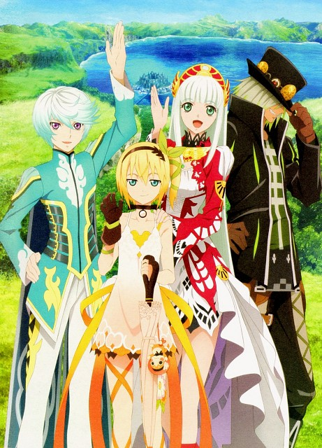 Ufotable, Namco, Tales of Zestiria Fan Book, Tales of Zestiria, Edna