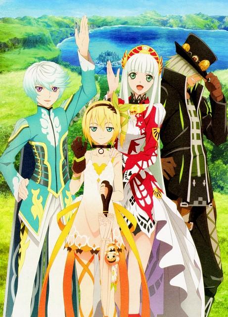 Namco, Ufotable, Tales of Zestiria Fan Book, Tales of Zestiria, Mikleo