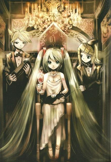 KEI, Vocaloid, Miku Hatsune, Len Kagamine, Rin Kagamine