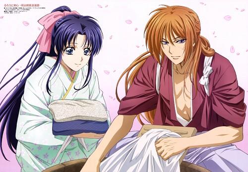 Atsuko Nakajima, Rurouni Kenshin, Kaoru Kamiya, Kenshin Himura, Animedia