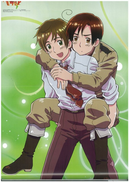 Hidekaz Himaruya, Studio DEEN, Hetalia: Axis Powers, South Italy, Spain