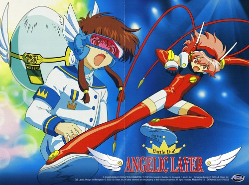 CLAMP, BONES, Angelic Layer, Misaki Suzuhara, Hikaru (Angelic Layer)