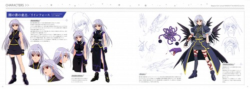 Seven Arcs, Mahou Shoujo Lyrical Nanoha, Reinforce, Character Sheet