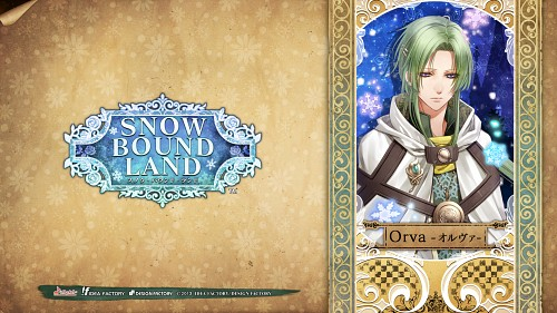 Aya Murasaki, Idea Factory, Snow Bound Land, Orva, Official Wallpaper