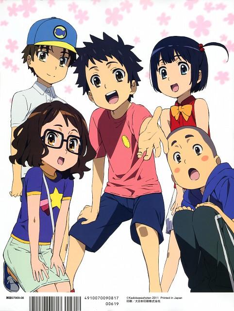 A-1 Pictures, AnoHana, Jinta Yadomi, Chiriko Tsurumi, Naruko Anjou