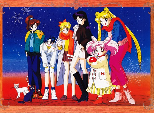 Toei Animation, Bishoujo Senshi Sailor Moon, Artemis, Minako Aino, Rei Hino