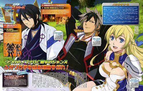 Midori Yamamoto, Satelight, Nobunaga the Fool, Jeanne Kaguya d'Arc, Nobunaga Oda (Nobunaga the Fool)