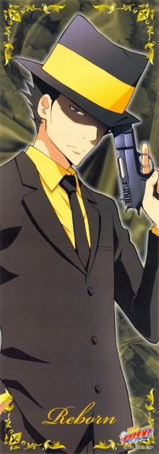 Akira Amano, Artland, Katekyo Hitman Reborn!, Reborn (Character), Stick Poster