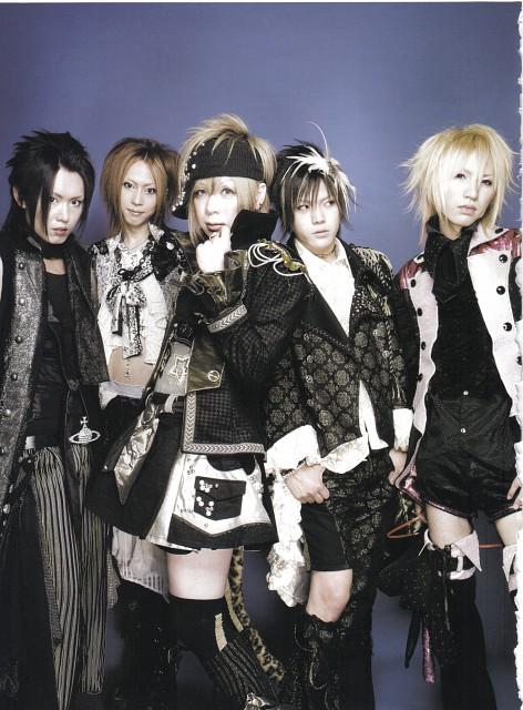 Ayabie, Intetsu, Takehito, Yumehito, Shinobu Satou