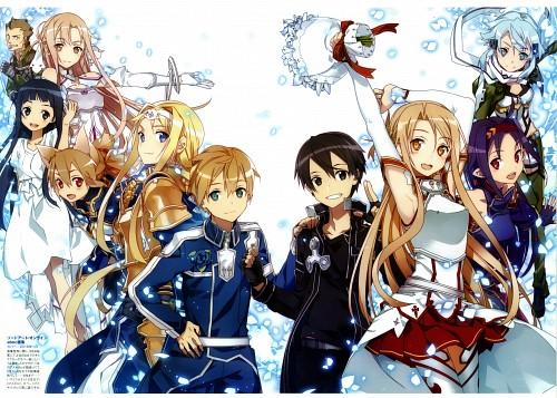 Abec, A-1 Pictures, Sword Art Online: Abec Art Works, Sword Art Online, Yui (Sword Art Online)
