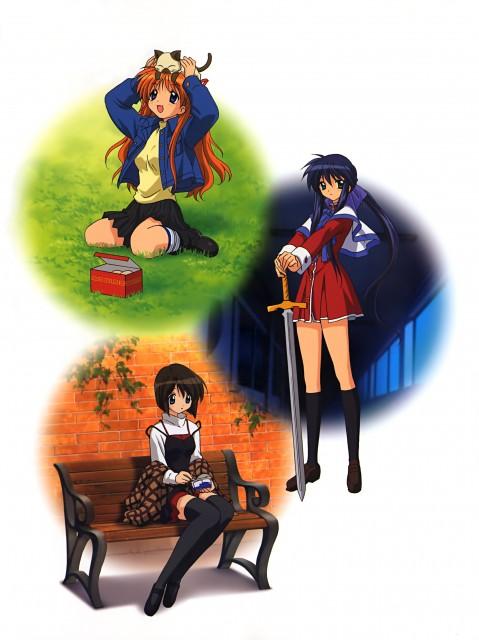 Kyoto Animation, Kanon: Visual Memories, Kanon, Piro, Shiori Misaka