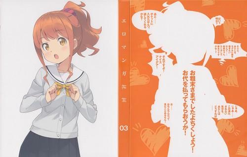 Hiro Kanzaki, A-1 Pictures, Eromanga-sensei, Megumi Jinno, DVD Cover