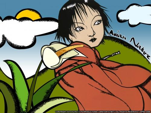 Yoshitaka Amano, Poem (Artbook) Wallpaper