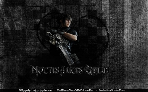 Square Enix, Final Fantasy XV, Final Fantasy XIII, Noctis Lucis Caelum Wallpaper