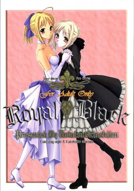Fate/Hollow ataraxia, Saber Lily, Saber Alter, Doujinshi