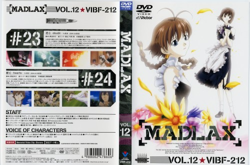 Bee Train, Madlax, Elenore Baker, Margaret Burton, DVD Cover