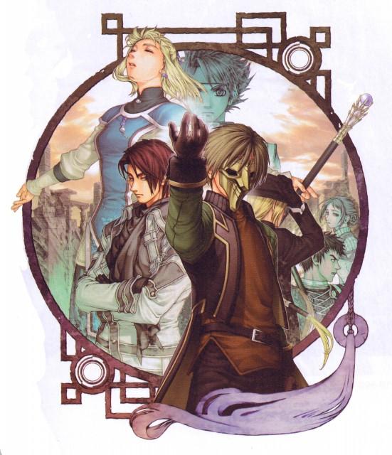 Fumi Ishikawa, Konami, Suikoden III, Yuber, Franz