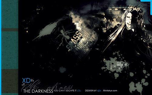 Yana Toboso, A-1 Pictures, Kuroshitsuji, Undertaker Wallpaper