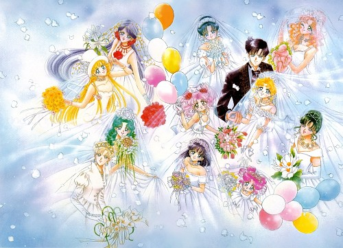 Naoko Takeuchi, Bishoujo Senshi Sailor Moon, BSSM Original Picture Collection Vol. V, Michiru Kaioh, Makoto Kino