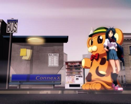 Gonzo, Full Metal Panic!, Bonta-kun, Kaname Chidori Wallpaper