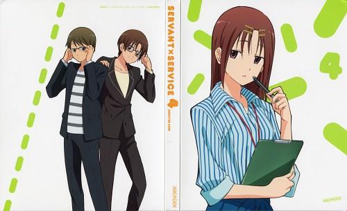A-1 Pictures, Servant x Service, Taishi Ichimiya, Megumi Chihaya, Yutaka Hasebe