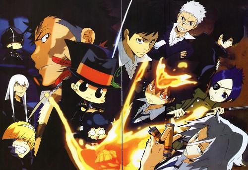 Akira Amano, Artland, Katekyo Hitman Reborn!, Tsunayoshi Sawada, Superbi Squalo