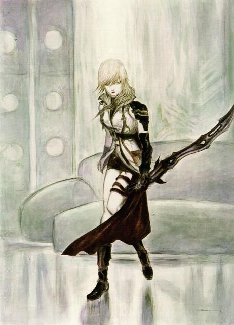 Yoshitaka Amano, Square Enix, Final Fantasy XIII, Lightning (FF XIII)