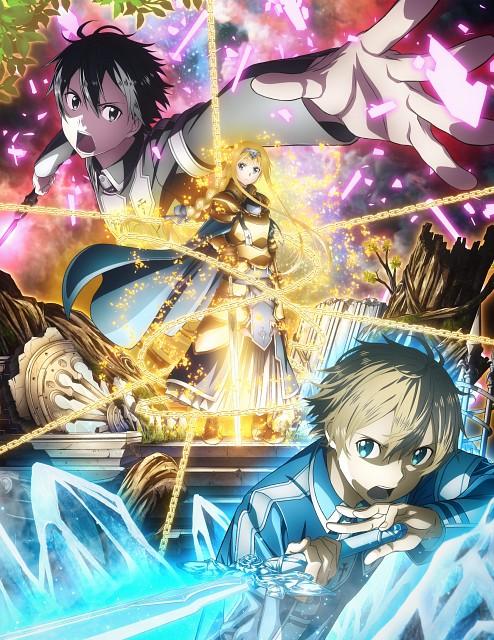 Abec, A-1 Pictures, Sword Art Online, Alice Schuberg, Kazuto Kirigaya