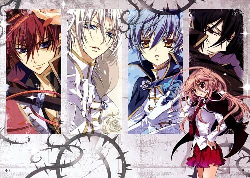 Aya Shouoto, Kiss of Rose Princess, Seiran Asagi, Mitsuru Tenjoh, Kaede Higa