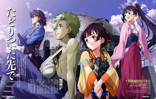 Naohiro Osugi, Yuta Tsuchiya, Production I.G, Koutetsujou no Cabaneri, Kurusu (Koutetsujou no Cabaneri)