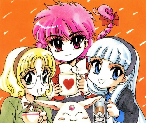CLAMP, Magic Knight Rayearth, CLAMP North Side, Hikaru Shidou, Mokona