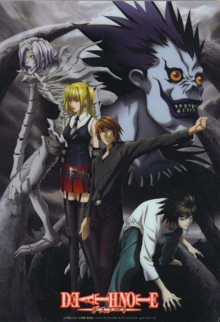 Madhouse, Death Note, Ryuk, Misa Amane, L