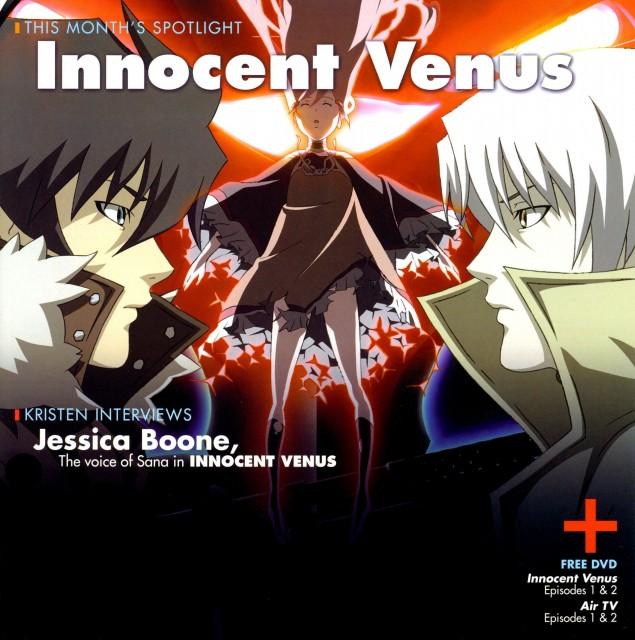 Brains Base, Innocent Venus, Sana Nobuto, Jo Katsuragi, Jin Tsurasawa