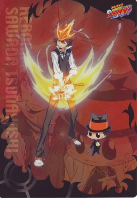 Akira Amano, Katekyo Hitman Reborn!, Tsunayoshi Sawada, Leon (Katekyo Hitman Reborn!), Reborn (Character)