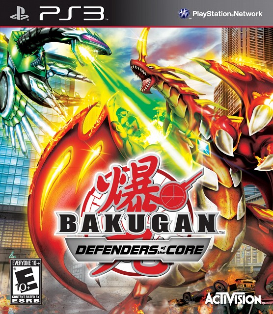 TMS Entertainment, Bakugan, Video Game Cover