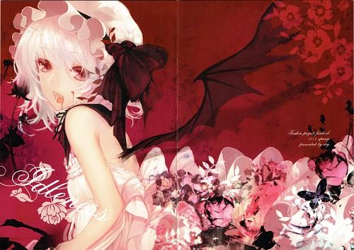 Apt, Idleness, Touhou, Remilia Scarlet, Artbook Cover