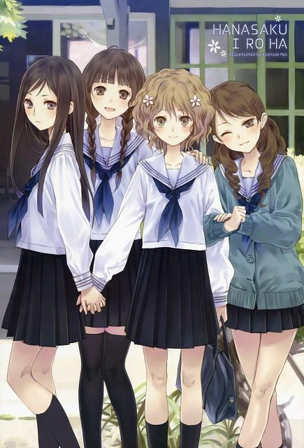 Mel Kishida, Hanasaku Iroha, Nako Oshimizu, Yuina Wakura, Ohana Matsumae