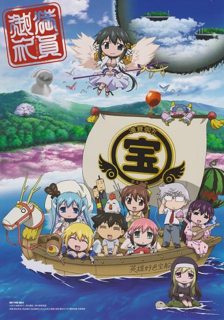 Suu Minazuki, Sora no Otoshimono, Nymph, Eishiro Sugata, Ikaros