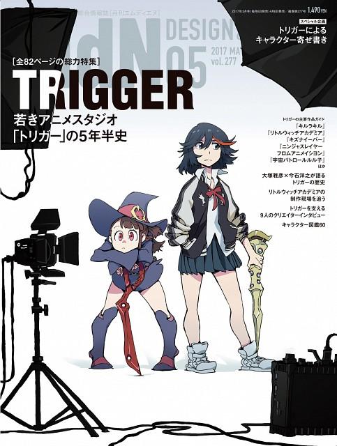 Ryou Akizuki, Trigger (Studio), Kill la Kill, Little Witch Academia, Ryuuko Matoi