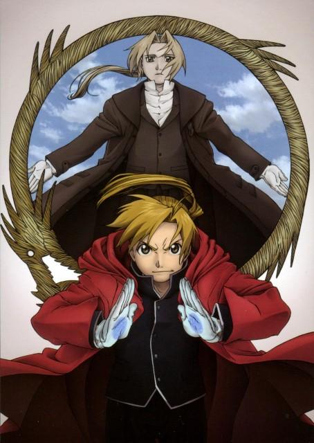 BONES, Fullmetal Alchemist, Envy, Alphonse Elric, Edward Elric