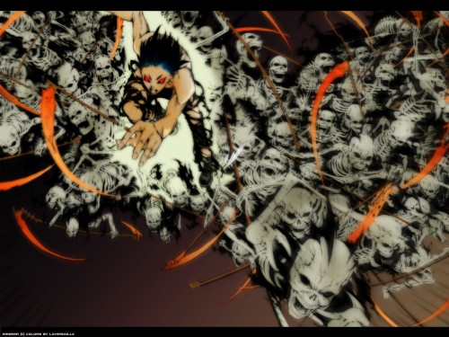 Oh! Great, Air Gear, Akito Wanijima, Colorizations Wallpaper