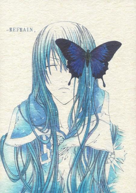 Kazufumi Sanada, D Gray-Man, Yu Kanda, Doujinshi, Doujinshi Cover