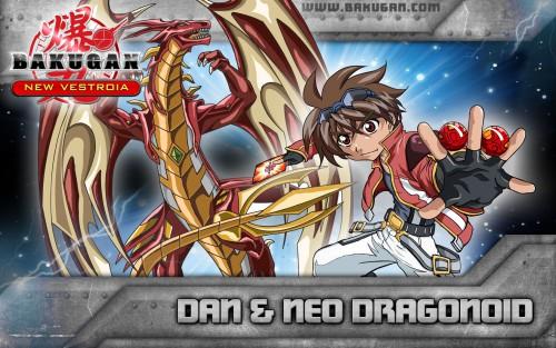 TMS Entertainment, Bakugan, Neo Dragonoid, Daniel Kuso, Official Wallpaper