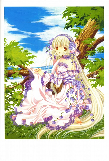 CLAMP, Chobits, The Art Of Clamp Memories, Chii