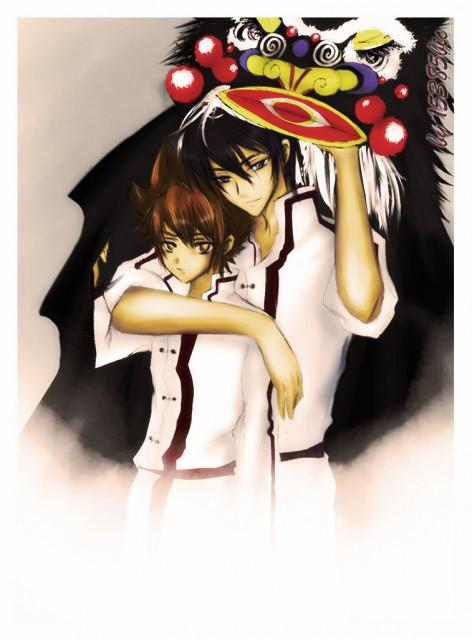 Katekyo Hitman Reborn!, Kyoya Hibari, Tsunayoshi Sawada, Member Art